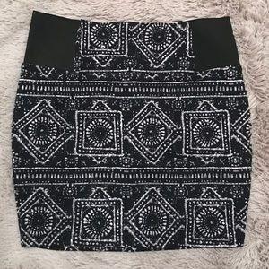Stretchy skirt - navy
